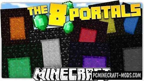 The 8 Portals Map For Minecraft