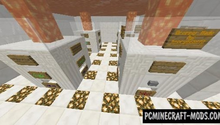 The Ultimate Dropper - Minigame Map For MC