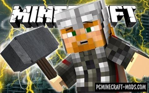Thor Command Block For Minecraft 1.8.8, 1.8