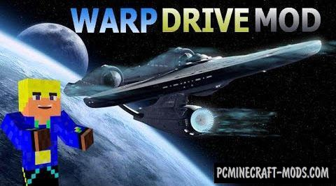Warp Drive - Technology, Mech Mod For Minecraft 1.12.2