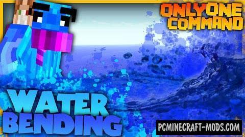 Waterbending Command Block For Minecraft 1.8.9