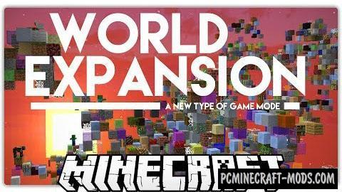 World Expansion - Survival Map For Minecraft