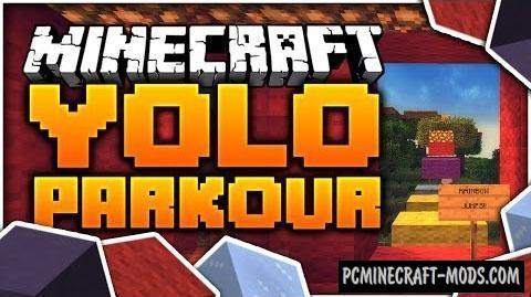 Yolo 2 - Parkour Map For Minecraft