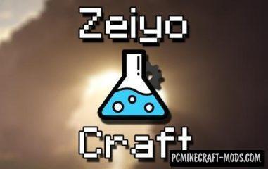 ZeiyoCraft Mod For Minecraft 1.12.2, 1.11.2, 1.10.2