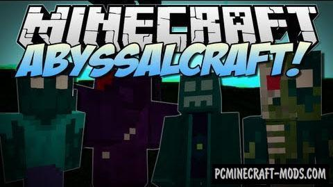 AbyssalCraft - Dimensions Mod For Minecraft 1.12.2, 1.8.9