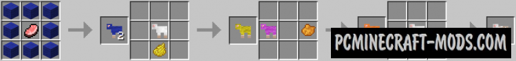 Craftable Animals Mod For Minecraft 1.10.2, 1.8, 1.7.10