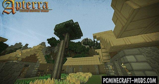 Apterra - Adventure, Survival Map For Minecraft