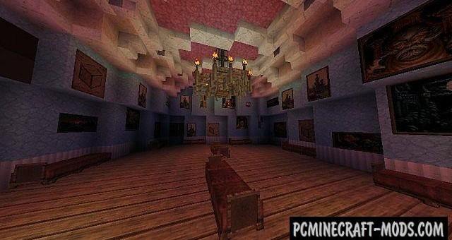 Arendelle Frozen - Castle Map For Minecraft