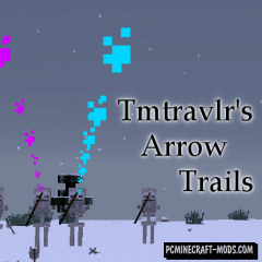 Arrow Trails Mod For Minecraft 1.12.2, 1.8, 1.7.10