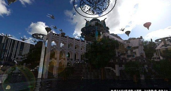 Atlantis – The Lost Empire - City Map For Minecraft