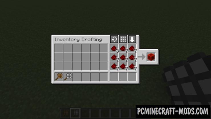 CraftingCraft - Decor Workbench Mod For MC 1.16.5, 1.12.2