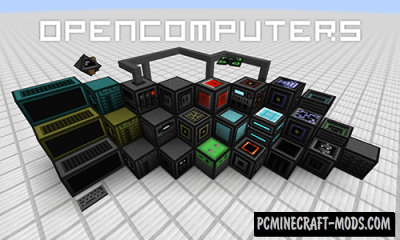 Open Computers - Tech Robots Mod For Minecraft 1.12.2