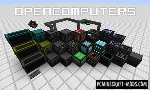 Open Computers Mod For Minecraft 1.12.2, 1.11.2, 1.10.2, 1.7.10