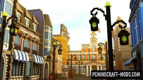 Lego City Map For Minecraft