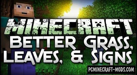 Better Foliage - Shaders Mod For Minecraft 1.12.2, 1.11.2