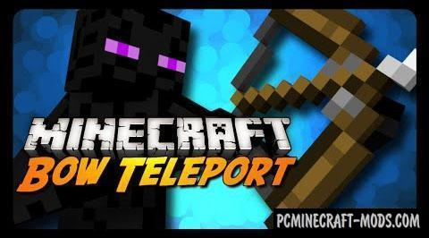 Bow Teleport - Puzzle Map For Minecraft