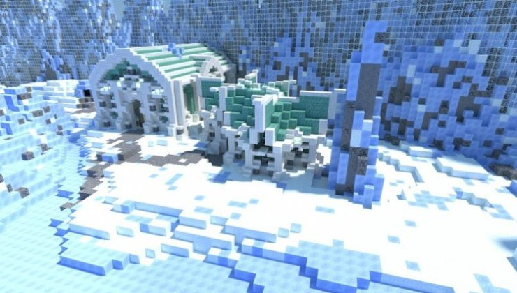 Survival Games (Ice Themed) - PvP Arena Map MC