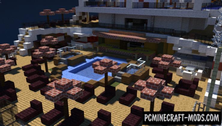 Carnival Vista Map For Minecraft