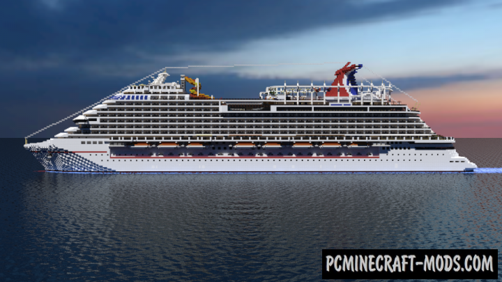 Carnival Vista Map For Minecraft