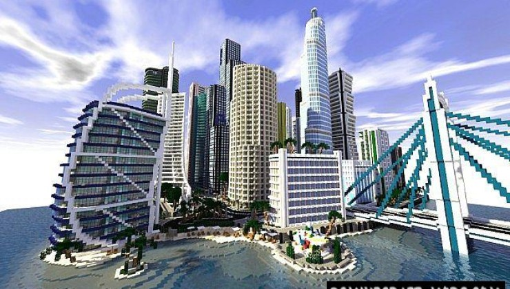 Infinity City Map For Minecraft 1 15, 1 14 4 | PC Java Mods
