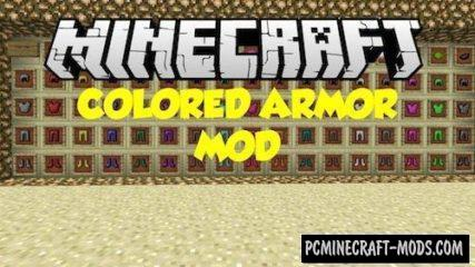 Colorful Armor - Decor Mod For Minecraft 1.16.5, 1.14.4, 1.12.2