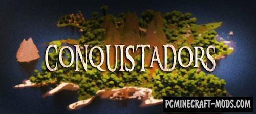 Conquistadors - Survival Map For Minecraft