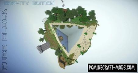 Cube Block - Survival Map For Minecraft