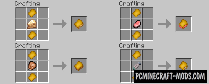Lots of Food Mod For Minecraft 1.10.2, 1.9.4, 1.7.10, 1.6.4