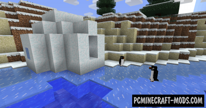 Waddles Mod For Minecraft 1.14.2, 1.13.2, 1.12.2, 1.10.2