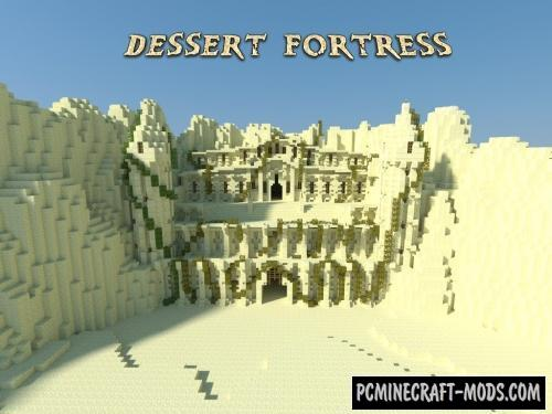 Desert Fortress Map For Minecraft 1 15 1 14 4 Pc Java Mods