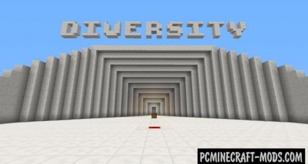 Diversity - MiniGames Map For Minecraft
