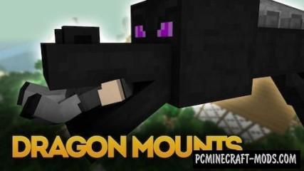 Dragon Mounts Mod For Minecraft 1.10.2, 1.9.4, 1.8.9, 1.7.10
