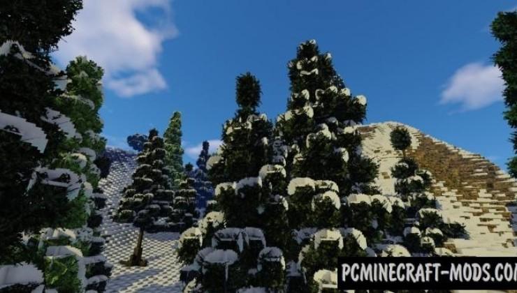 Alpen-Kruin Map For Minecraft