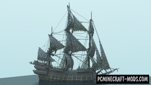 The Flying Dutchman Map For Minecraft