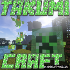 Takumi Craft Mod For Minecraft 1.12.2, 1.8.9, 1.7.10