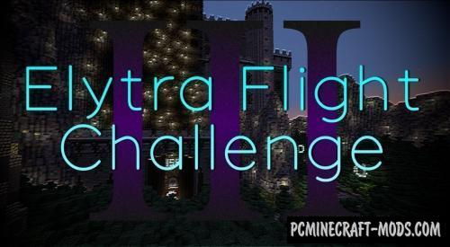 The Elytra Flight Challenge III - Parkour Map For MC