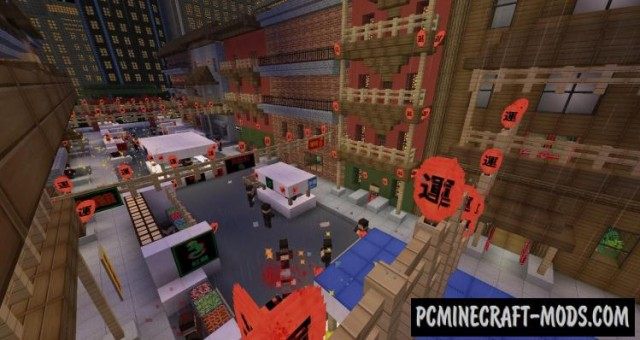PayDay 2 - Adventure, PvE, City Map For Minecraft