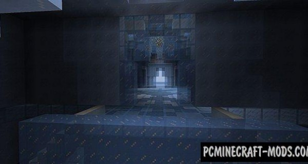 Elsa's Ice Palace - Castle Map For Minecraft