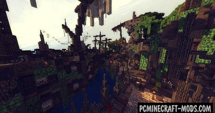 Epic Pirate Bay - Town, Adventure Map Minecraft
