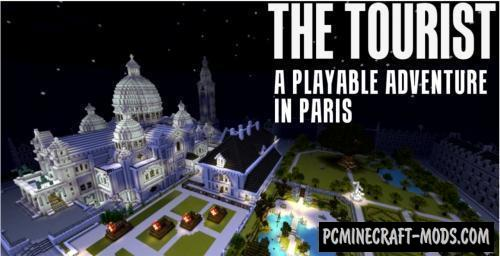 The Tourist - Adventure, City Map For Minecraft