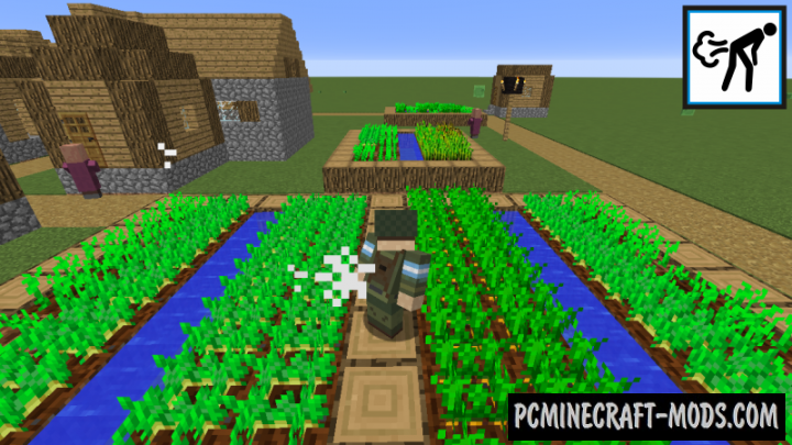 Crop Dusting Mod For Minecraft 1.12.2, 1.11.2, 1.10.2, 1.9.4