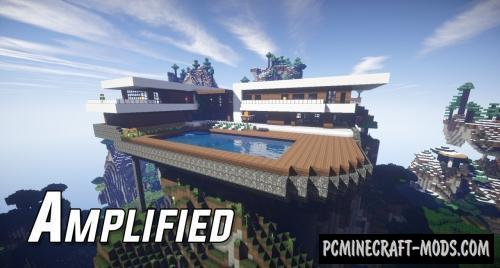 Amplified Map For Minecraft