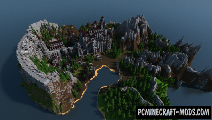 Anor Londo Map For Minecraft