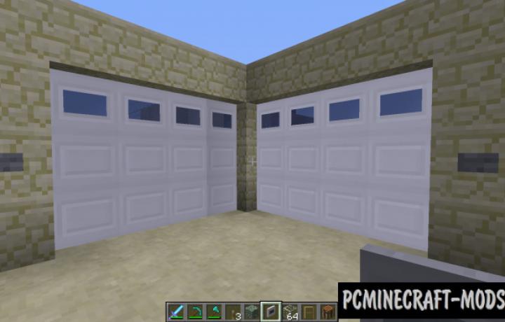 Malisis Doors Mod For Minecraft 1.10.2, 1.9.4, 1.8.9, 1.7.10
