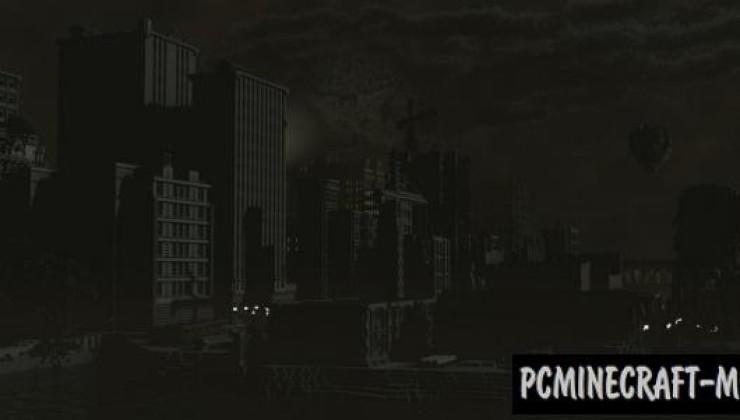 Gotham City Map For Minecraft