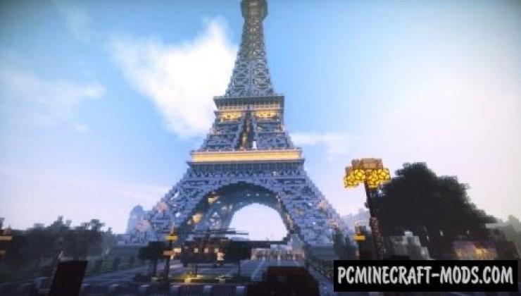 Скачать карту Эйфелева башня для Minecraft 1.8.3 » Лучшие ...