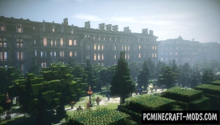 Paris - Eiffel Tower - City Map For Minecraft