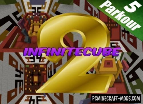 InfiniteCube 2 - Parkour Map For Minecraft