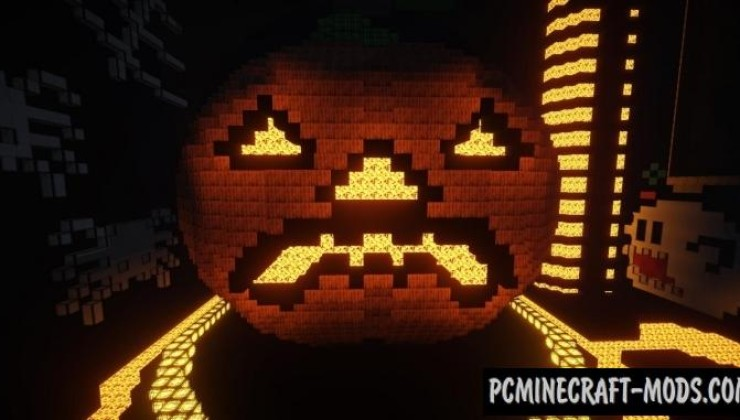 Halloween Roller Coaster Map For Minecraft 1.13, 1.12.2 | PC Java ...