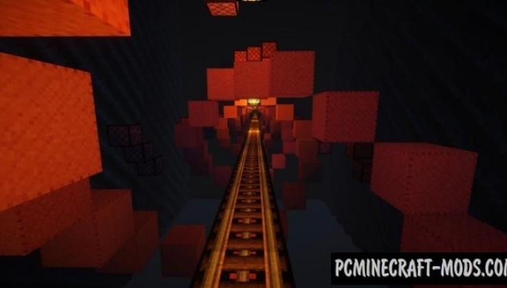 Halloween Roller Coaster Map For Minecraft